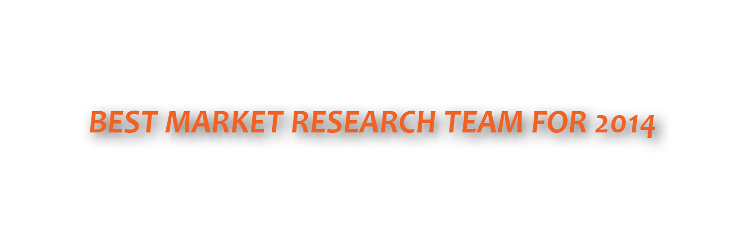Best Market Research Team for 2014